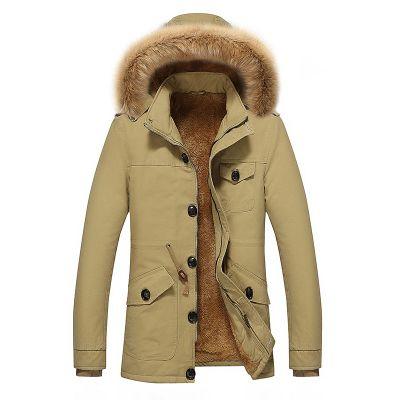 Men's Multi-Pocket Detachable Hooded Jacket