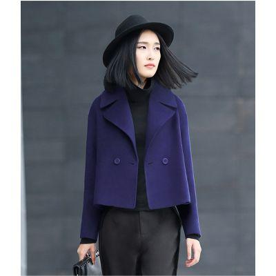 Short sleeve women's jacket with vintage cut