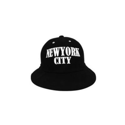 New York City Rounded Bucket Hat Embroidery for Men or Women