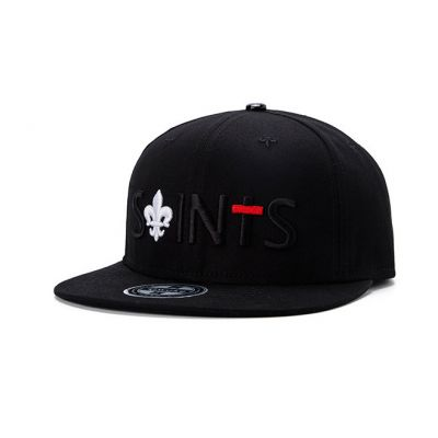 Saints Embroidery Snapback Cap with Lily Embroidery