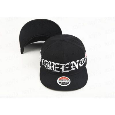 Black Swag Baseball Snapback Cap Been Trill Gothic Embroidery