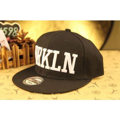 Brooklyn BRKLN Block Letter Snapback Baseball Cap Hip Hop