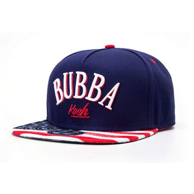USA Flag Bubba Kush Snapback Baseball Cap