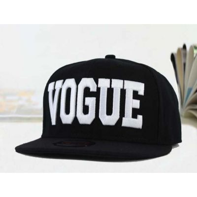 Vogue Snapback Baseball Cap with Embroidery Front for Men or Women