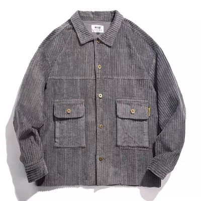 Casual corduroy jacket for men