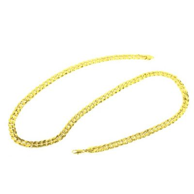 Bling Bling Gold Plated Necklace Chain 9 MM