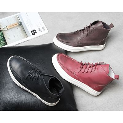 High Top Retro Sports  Chukka Boots for Men