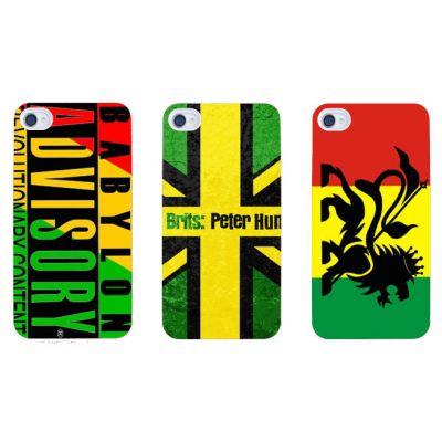 Reggae Dancehall iPhone Cover Galaxy S3 S4 Marijuana Rasta Jamaica