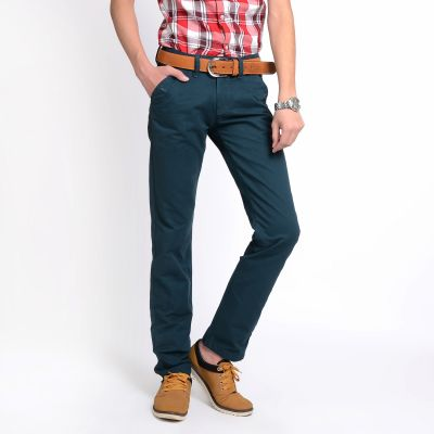 Jeans Denim Pants for Men Straight cut Trousers - Beige Navy Black