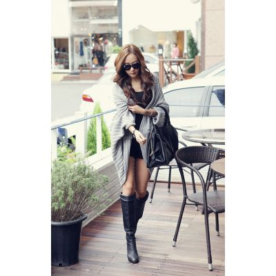 Loose Knit Cardigan Vest for Women Casual Sweater