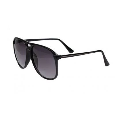 Fashion Sunglasses for Men Women with Thick Plastic Frame