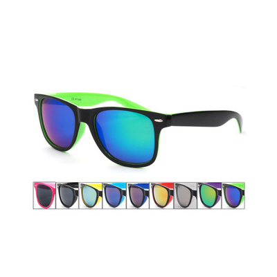 Wayfarer Sunglasses with Matching Color Inner Frame and Lense