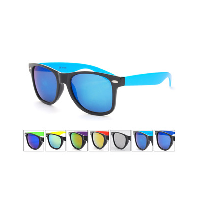 Wayfarer Sunglasses with Matching Color Lense and Frame