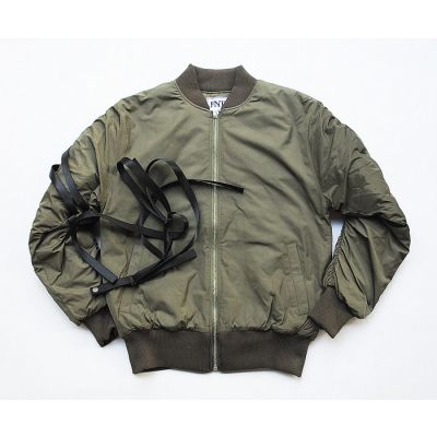 MA1 Classic Bomber Jacket for Men with Back Straps