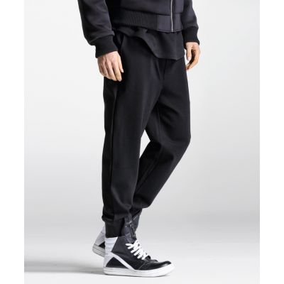 Sarouel Jogging Pants for Men with Drop Crotch Cotton