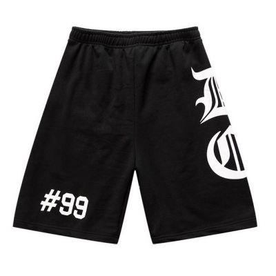 Cotton Basketball Shorts with DC Gothic Print Streetwear Swag