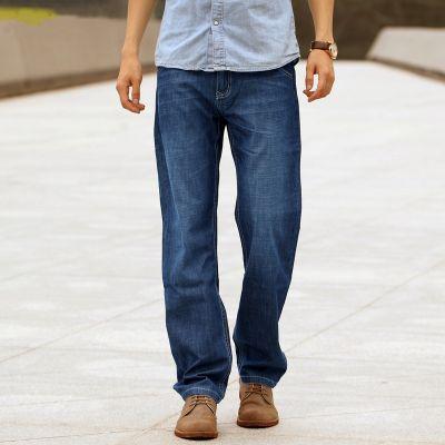 Straight leg relaxed vintage jeans for men