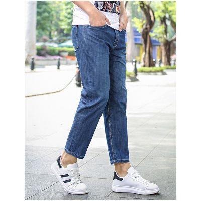 Straight slim fit jeans for men