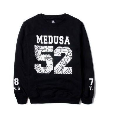 Pullover Crewneck Sweatshirt 52 Medusa Baseball American Football