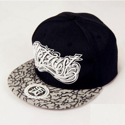 West Coast Graffiti Snapback Hat with Grey Camo Visor
