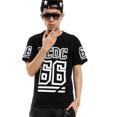 BCDC 66 Hip Hop T shirt Swag Black and White