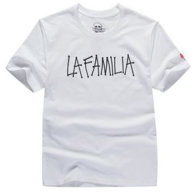 La Familia T shirt Handwriting Streetwear Hip Hop