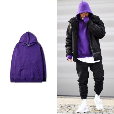 Plain oversize hoodie for men or women hooded sweatshirt
