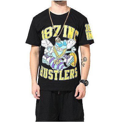 Charlotte Hornets Hustlers Basketball T shirt for Men