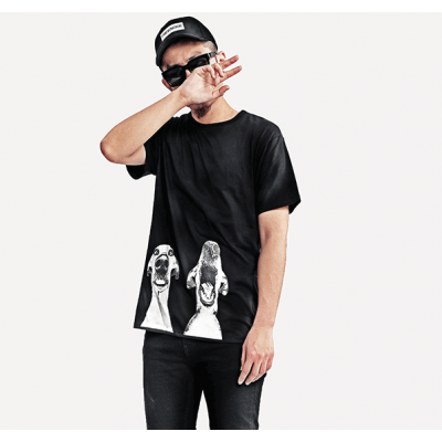 Mad Dog Printed Swag streetwear t-shirt for Men or Women