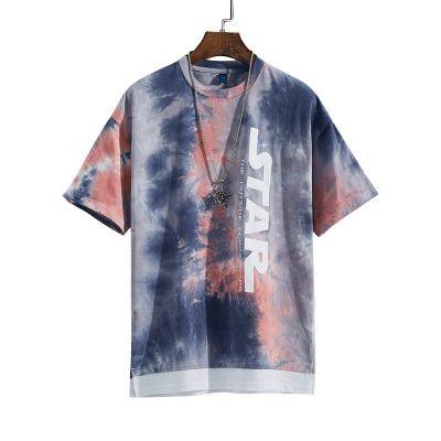 T-shirt tie-dye à manches courtes