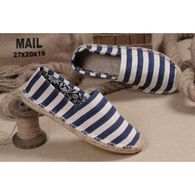 Casual Slip on Shoes for Women Striped for Beach Home Garden