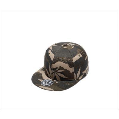 Weed Leaf Camouflage Snapback Cap Baseball