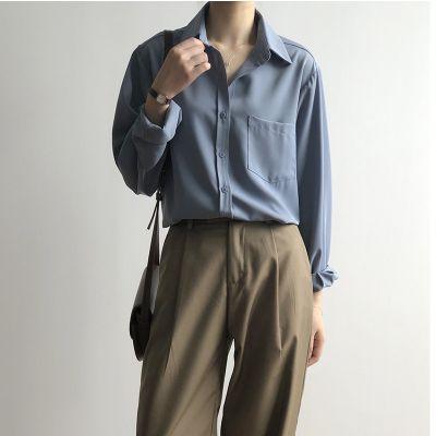 Women's long-sleeved shirt
