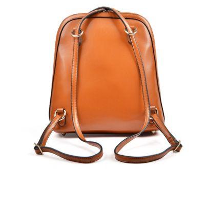 2 in 1 Backpack Handbag for Women with Gold Details