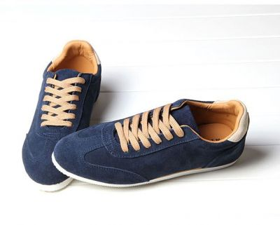 Retro fashion sneakers for Men with white Sole - Low top