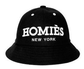 Homiès New York Round Bucket hat for Men or Women