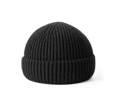 Fisherman Woolly Beanie Hat for Men Women Winter