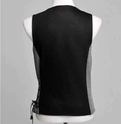 Fashion Waistcoat vest for men with Side Lacing