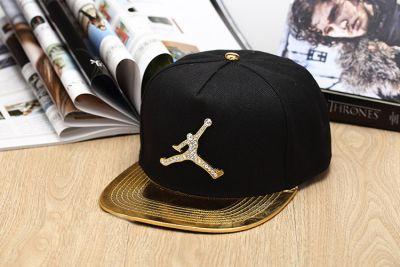 Air Jordan Jumpman Bling Bling Baseball Snapback Cap with Snakeskin Brim