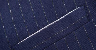 Men's Striped Suit Vest Sleeveless Waistcoat