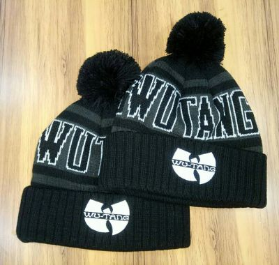 Wu Tang Clan Woolly Beanie Hat with Pompom