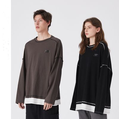 Long sleeves t-shirt in cotton unisex