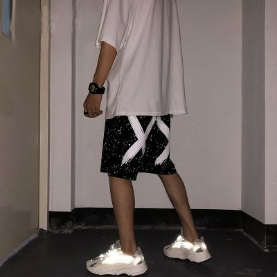 Men's oversize sports shorts