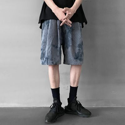 Oversized casual hip-hop style shorts for men