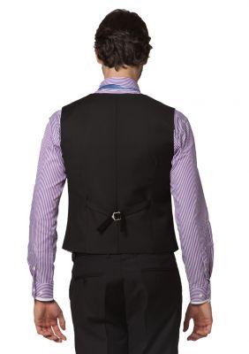 Waistcoat for men with Satin Collar Border