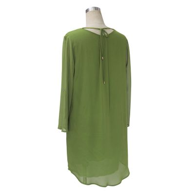 Light Summer dress for women with mid-long sleeves