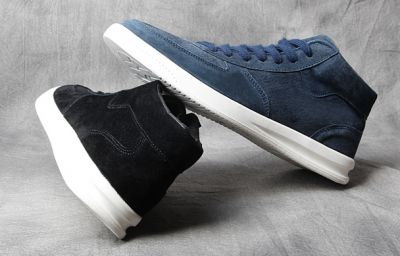 Retro Mid High Top Suede Sneaker Boots for men