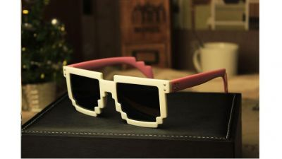 Pixel Sunglasses Retro Fashion Summer 2014 Plastic Multiple Colors