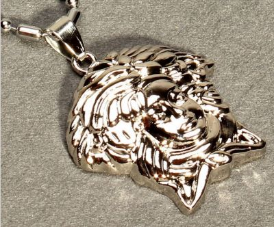 Medusa Gold Pendant and Chain Bling Bling Hip Hop Jewelry Swag