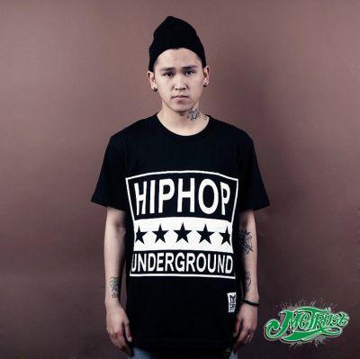 Hip Hop Underground Stars T Shirt Parental Advisory sticker